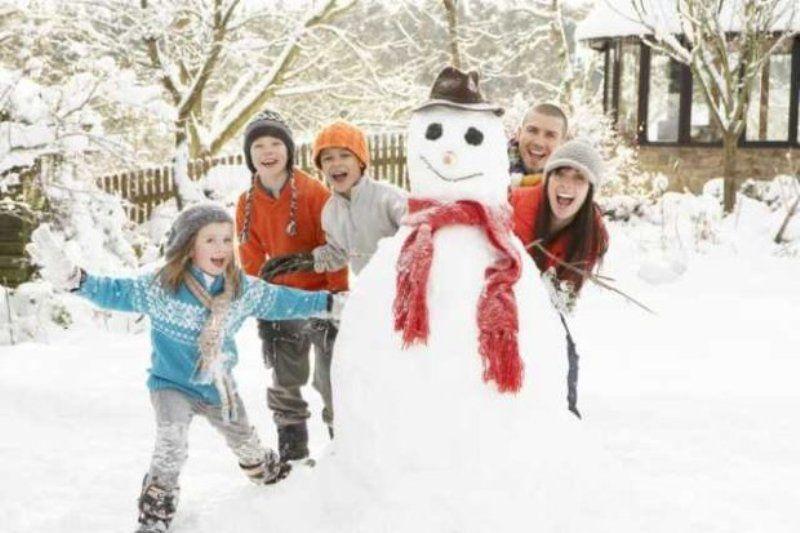 О семейном отдыхе зимой
