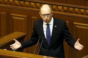 Яценюк посоветовал не ждать иностранных инвестиций в Украину