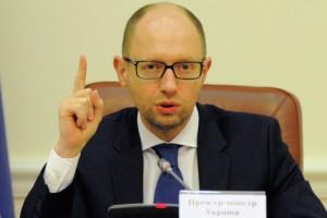 Яценюк поручил расширить список товаров из РФ, которые попадут под запрет на Украине