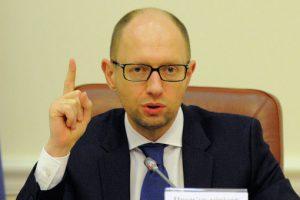 Яценюк «указывает» ЕС и Обаме когда снимать санкции с России