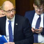 """Яценюк рассказал FP, что применял """"политический шантаж"""" и запугивание"""