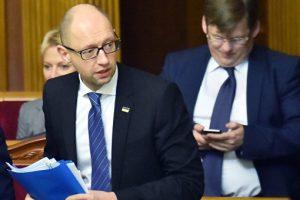 Яценюк рассказал FP, что применял «политический шантаж» и запугивание