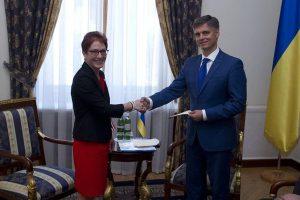 Новый посол США в Украине Мари Йованович прибыла в Украину