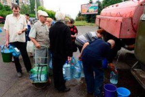 Зубко сообщил, что Украина не может прекратить подачу воды на Донбасс