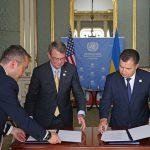 Пентагон подписал соглашение о военном сотрудничестве с Украиной