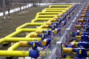 Украина использовала 25% запасов газа