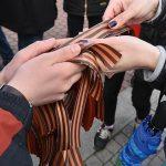 Молдаванину запретили появляться на Украине из-за георгиевских лент
