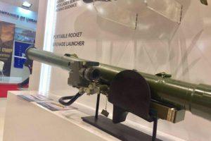 Новый украинский переносной реактивный гранатомет дебютировал на международной выставке