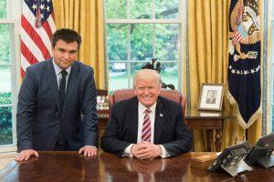 Трамп принял Климкина в Белом доме