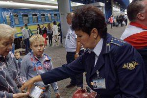 Украина прекратит пассажирское железнодорожное сообщение с Россией
