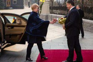 Сегодня в Харькове встретятся президенты Украины и Литвы