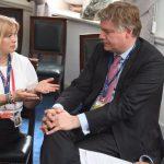 Геращенко пригласила генсека ЕНП посетить Донбасс