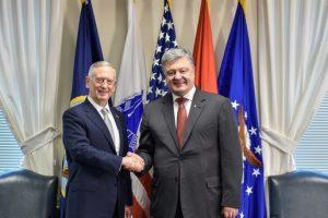 Визит министра обороны США в Украину: у Порошенко рассказали подробности