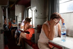 Поезд Львов-Москва стал лидером по вывозу украинцев в Россию