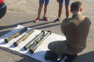 На Днепропетровщине задержали торговца гранатометами