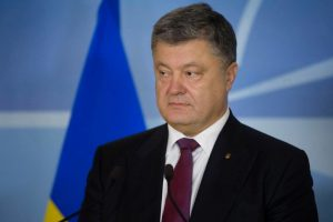 Порошенко рассказал, когда украинский гимн снова будет звучать в Донецке