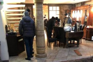 У Саакашвили дома обыск