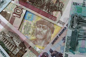 Гривна резко подешевела по отношению к российскому рублю