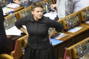 Савченко поведала о депутатах, которые приносят в Верховную раду оружие