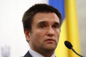 Климкин предложил обсудить введение латиницы на Украине