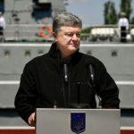 Порошенко хочет быстро восстановить дееспособность ВМС Украины