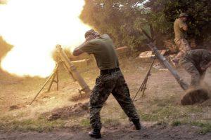 Боевики 37 раз обстреляли позиции ООС: один военный погиб, трое ранены