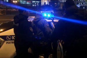 На Майдане произошли стычки с полицией