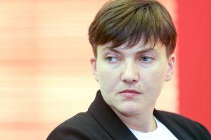 Савченко стала глохнуть и слепнуть в результате голодовки