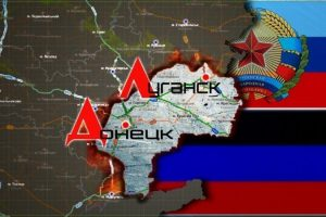 Киевская хунта отрезает ЛНР и ДНР