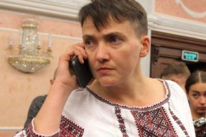 Савченко выдвинули кандидатом в президенты страны