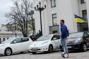 В Украине вырос импорт электрокаров