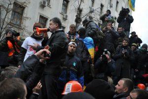 Нацкорпус начал охоту на президента Украины и его окружение