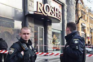 В Киеве подожгли еще один магазин Roshen