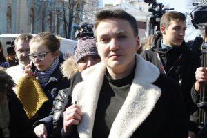 Савченко сравнила тюрьмы РФ и Украины
