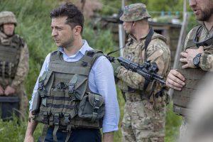 Зеленский обвинил Россию в эскалации конфликта в Донбассе