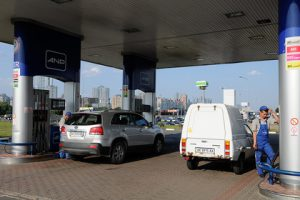 На украинских заправках заметили дефицит топлива