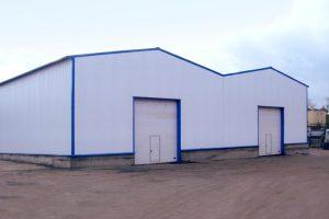 Основні конструктивні елементи будівлі з металоконструкцій.