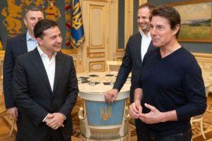 Зеленский встретился с Томом Крузом