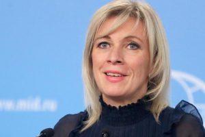 Захарова подключилась к шуткам Путина и Зеленского про газ
