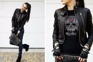 Ramoneska — рок, бохо и повседневный стиль с модной курткой в главной роли