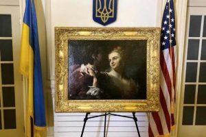 В Украину вернулась картина, которую вывезли нацисты во время войны