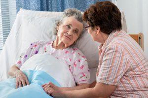 Постельное бельё для ухода за пожилым человеком