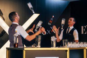 Выездное бармен шоу от компании The Bootlegger&Co