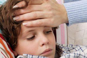 У ребёнка повысилась температура. Что делать?