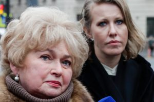 Зеленский ополчился на мать Собчак