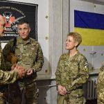 «Украина или смерть»: военный атташе США посетила позиции Киева в Донбассе