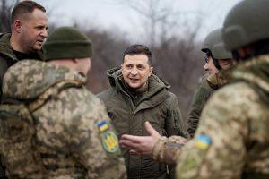 Зеленский назвал вступление в НАТО способом завершить конфликт в Донбассе