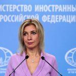 Захарова: РФ надеется, что Украина услышит сигнал США об актуальности минских соглашений